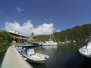 Marina w Anse Marces