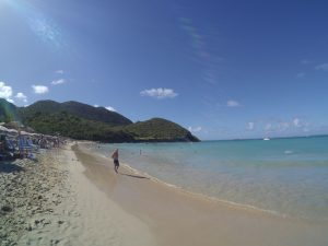 Plaża w Anse Marcel.