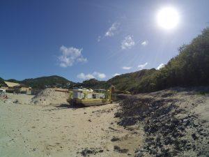 A przy plaży...