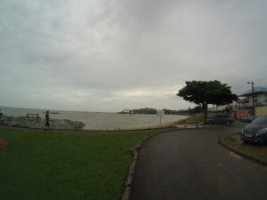 Tak wygladaja plaze w Gujanie.